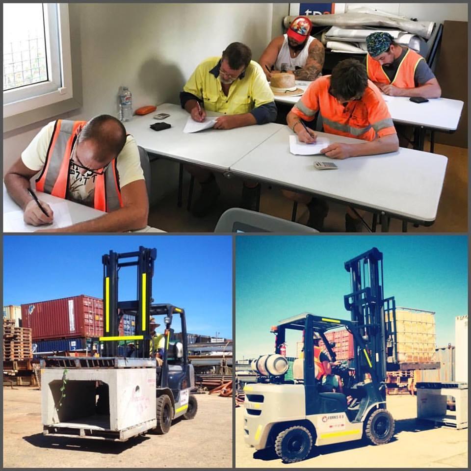 Tpa Carins Forklift Training Courses Forklift License Cairns